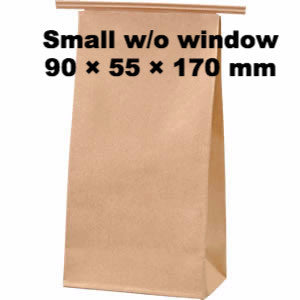 Seiwa: Wire Fold Craft Bags with Window - 6