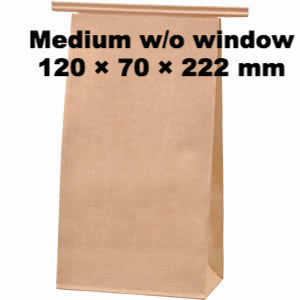 Seiwa: Wire Fold Craft Bags with Window - 7