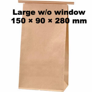 Seiwa: Wire Fold Craft Bags with Window - 8