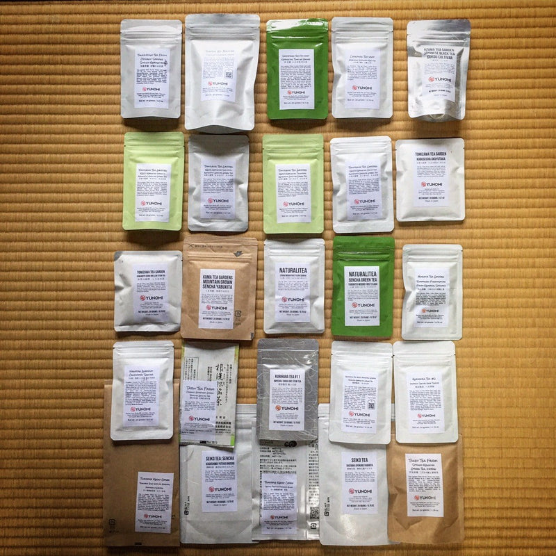 The Ultimate Japanese Tea Sampler (25 teas!) with Free Standard Airmail