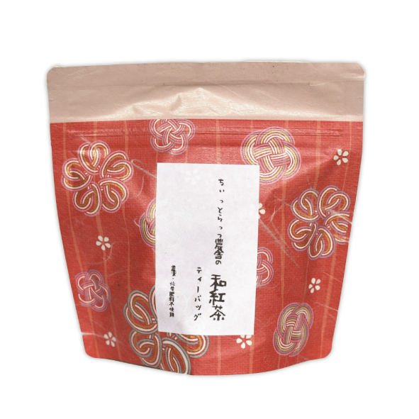 Ayumi Farms (Cyittorattu):  Wakocha Tea Bags(Japanese black tea, 3g x 8)