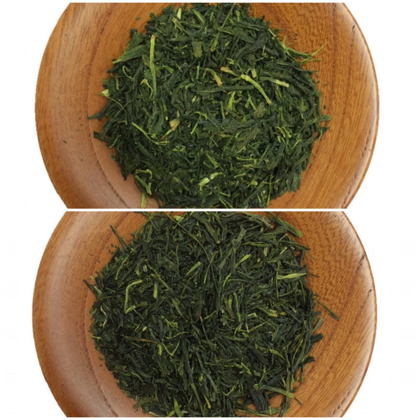 Lesson 204: Refining the leaf: Aracha (unrefined) vs (refined) Sencha tea
