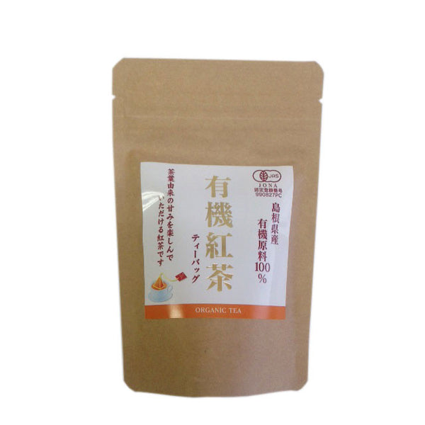 Chasandai: Shimane-grown Organic Black Tea Bags  (2g x 12) - 1