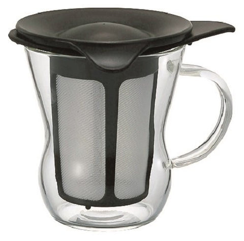 HARIO: One Cup Glass Tea Maker 200 ml - 1