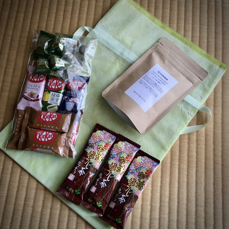 Yunomi Seasonal Comfort Kit: Hojicha Tea and Kit Kat 🍵