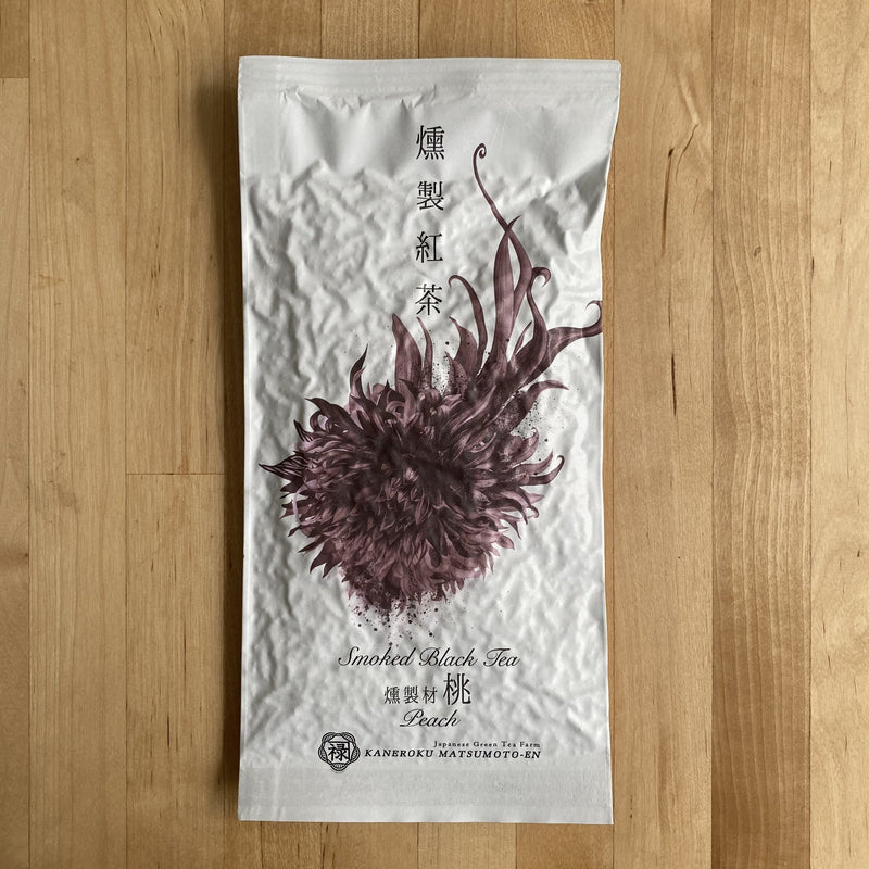 Kaneroku Matsumoto Tea Garden: Peach Wood Smoked Black Tea 燻製紅茶 桃