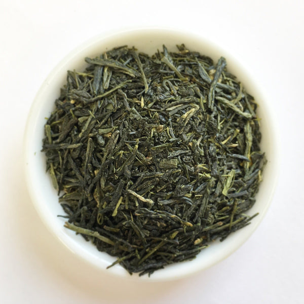 Hachimanjyu: Organic Kamacha, Green Roasted Sencha Green Tea