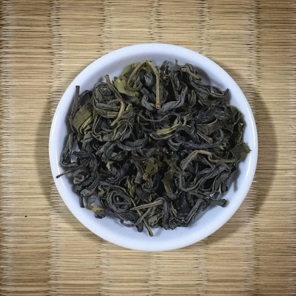 Handpicked Aged Tsuyuhikari Kamairicha Green Tea from Miyazaki, Single Cultivar