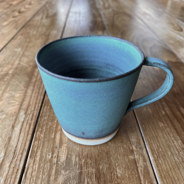 Oiso Studio: Sea Blue Cup with Handle 150 ml