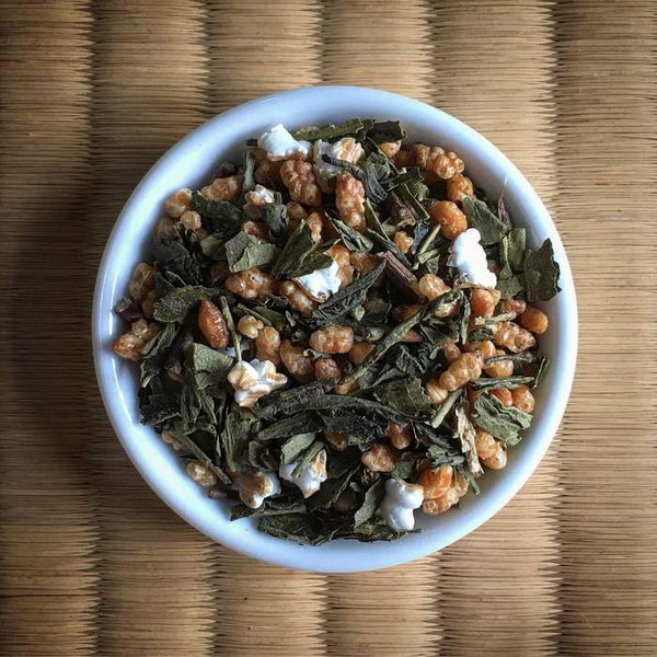 Yunomi Tea House Blend: Genmaicha Brown Rice Green Tea