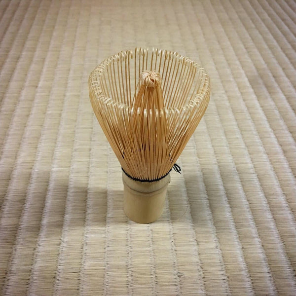 Basic Matcha Bamboo Whisk (Chasen) - 100-prong