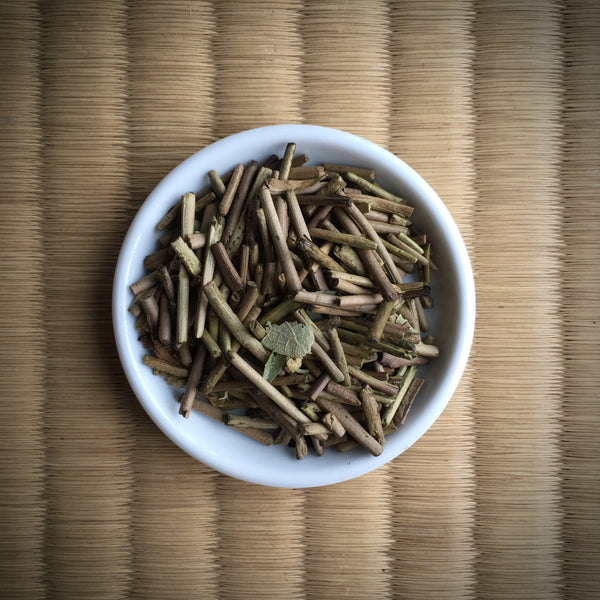 Ocharaka: Hojicha Japanese Pumpkin flavored roasted green tea