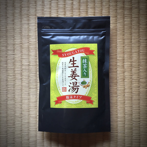 Yamane-en: Syougatou Ginger Tea Powder Mix with Matcha (250g)