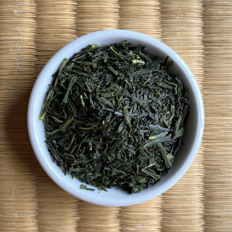 Hachimanjyu Yakushima Tea: Early Spring First Flush Green Tea (Naturally Grown Kuritawase & Asatsuyu Blend)