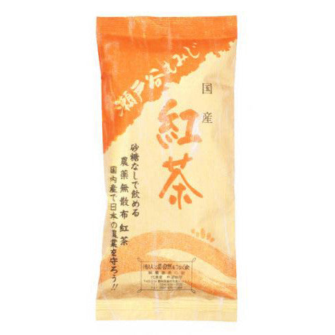 NaturaliTea #12: Japanese Black Tea Setoya Momiji 100g - 1