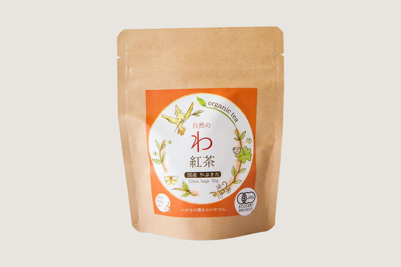 Japanese Black Tea (tea bags) by Zenkouen Tea Garden (JAS Organic)