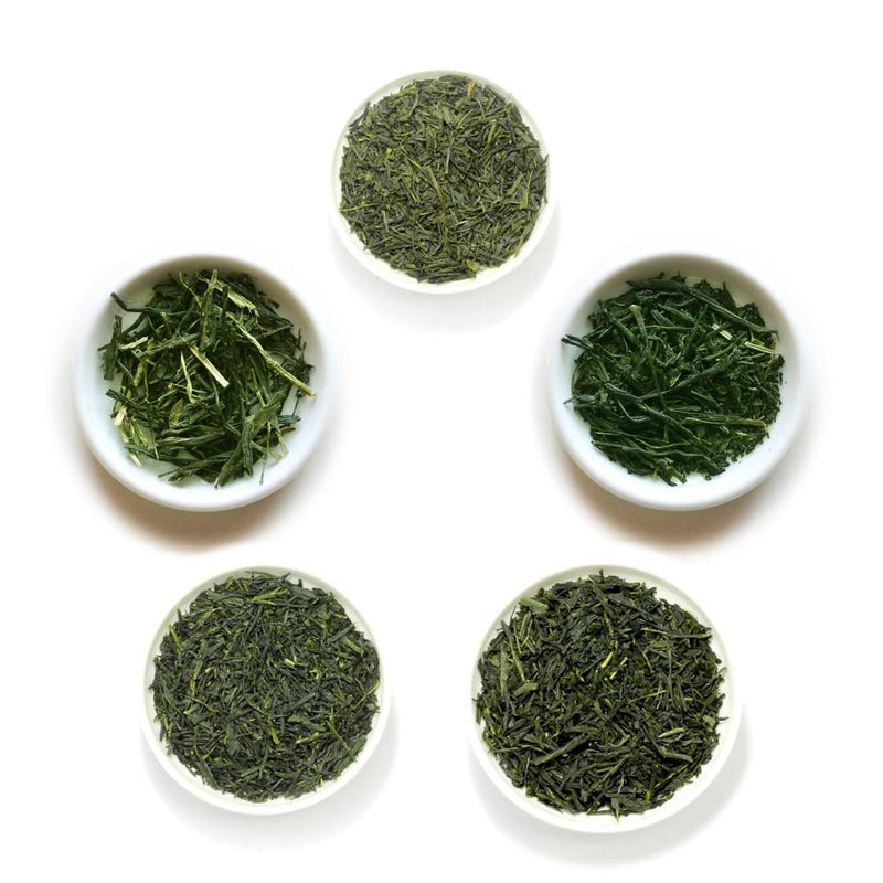 Yunomi Discoveries: Shincha Spring First Flush Green Tea Sampler (2020 Ships late May, 2019 still available)
