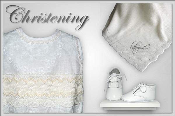 babymaC | baby boy Angel Christening outfit