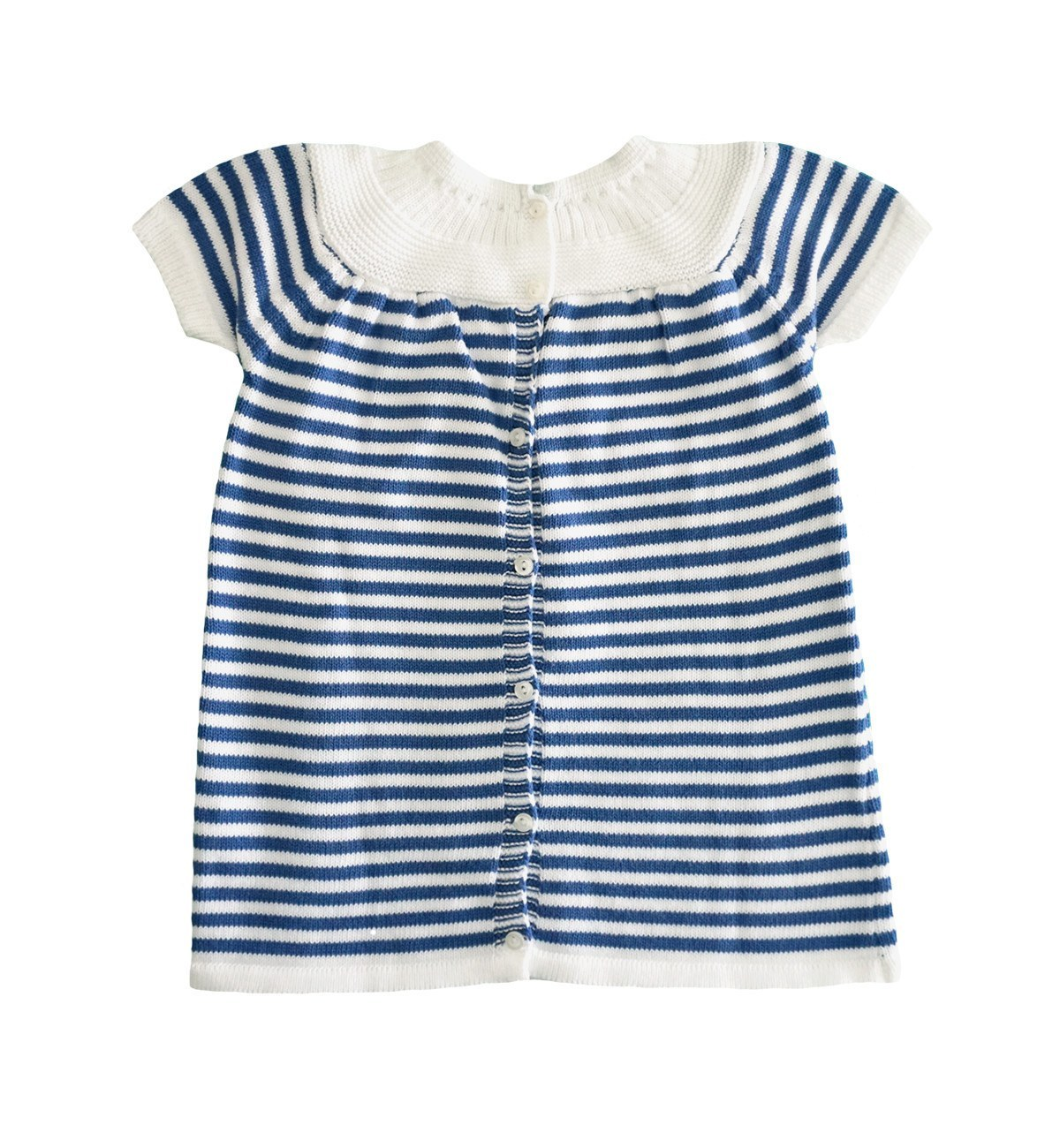 Blue and white two piece baby girl dress set babymaC