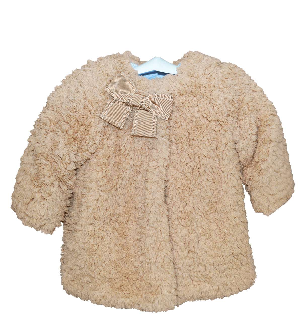 Spanish baby clothes | baby Cardigan & Coat | Camel fleece coat |babymaC  - 1