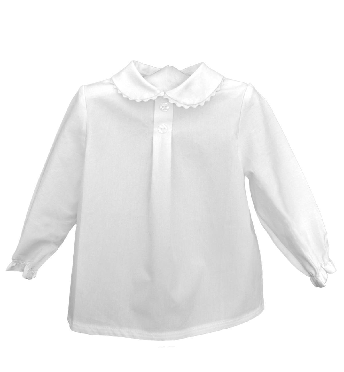 Spanish baby clothes | baby Blouse | 'Peter Pan' collar shirt |babymaC  - 1
