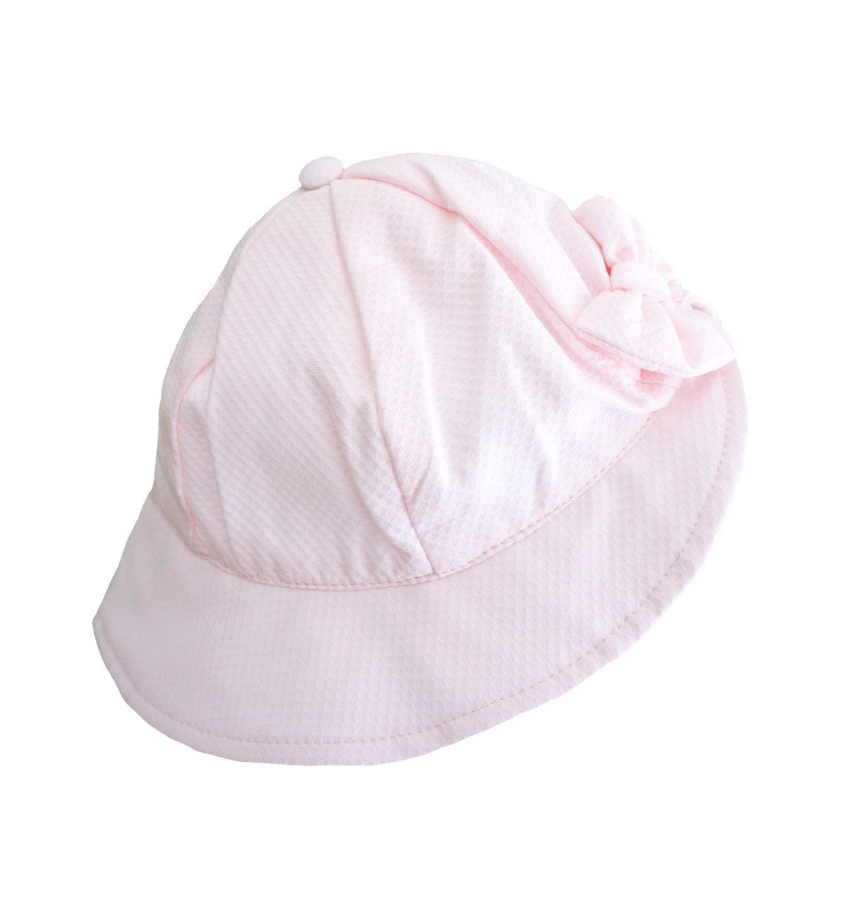 Spanish baby clothes | baby Hat | Pale pink honey pique hat |babymaC