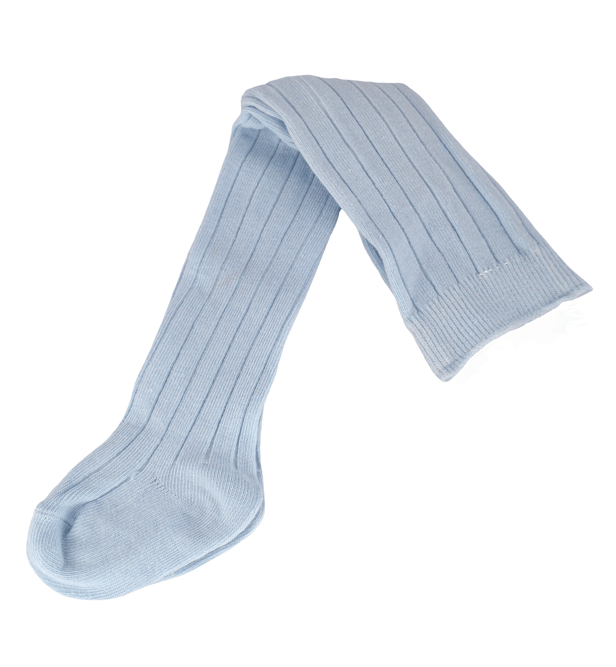 Spanish baby clothes | baby Tights | Baby blue ribbed knit tights |babymaC