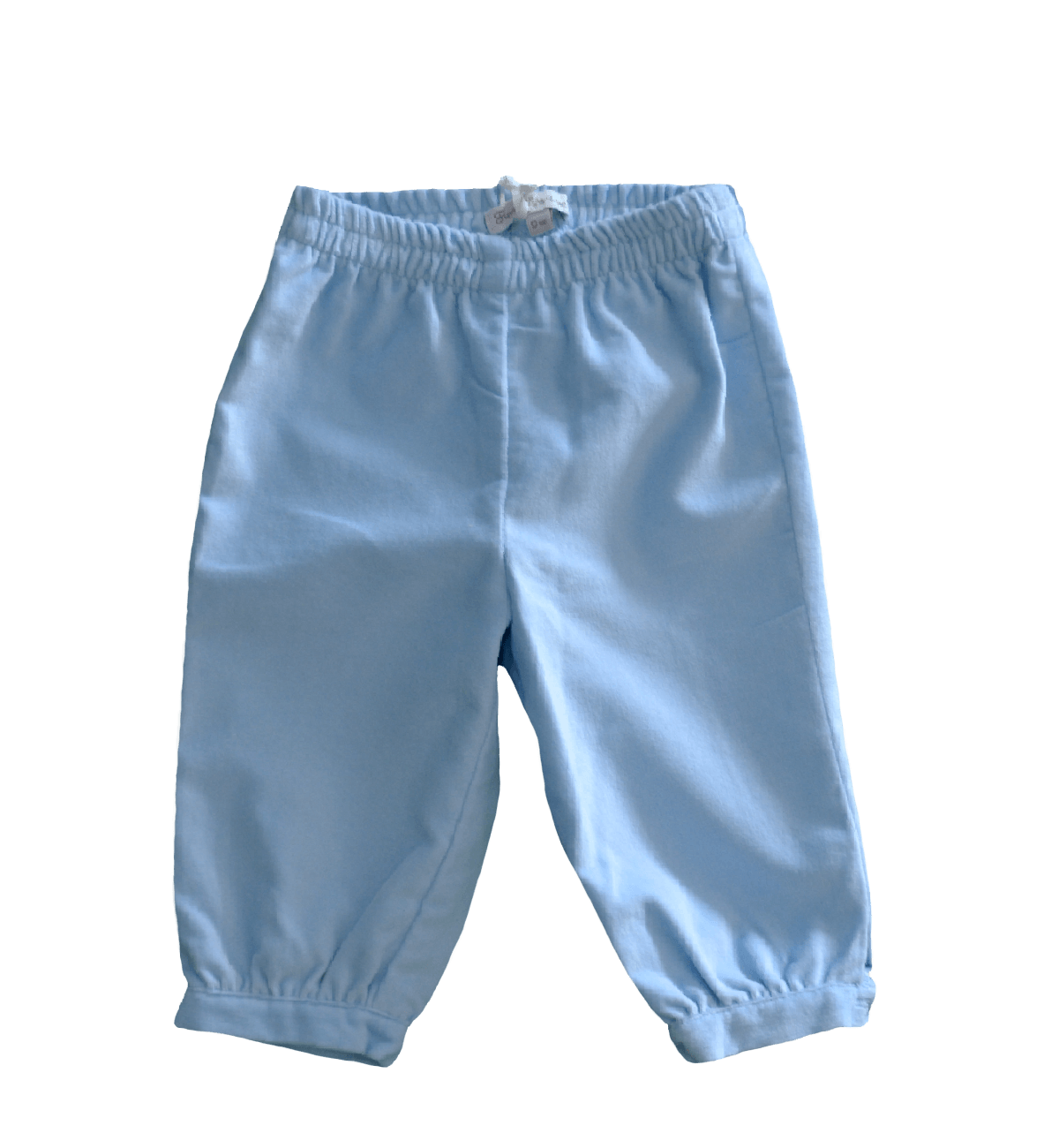 Spanish baby clothes | baby Trousers | Baby blue velvet trousers |babymaC