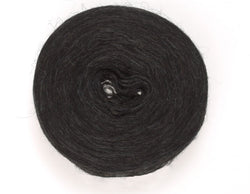 Icelandic sweaters and products - Plotulopi 0005 - black heather Plotulopi Wool Yarn - NordicStore