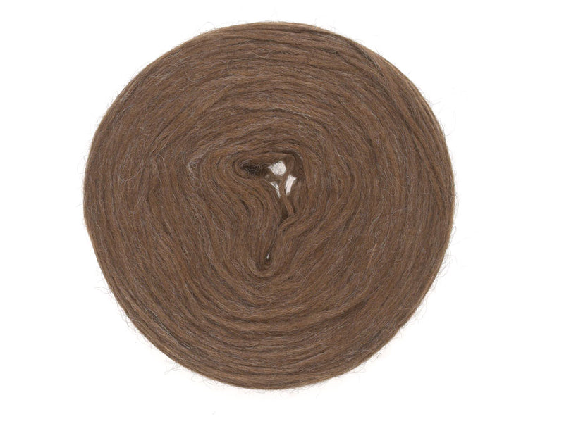 Icelandic sweaters and products - Plotulopi 0009 - brown heather Plotulopi Wool Yarn - NordicStore