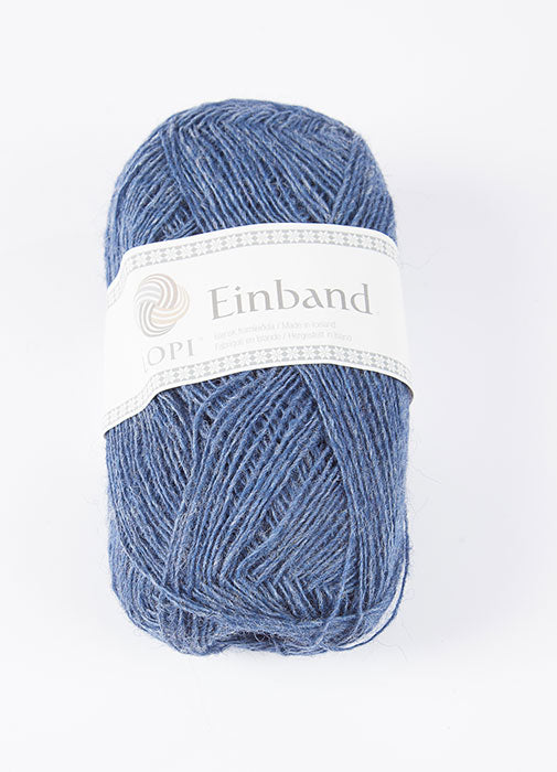 Icelandic sweaters and products - Einband 0010 Wool Yarn - Denim Einband Wool Yarn - NordicStore