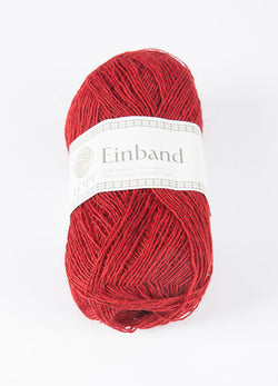 Icelandic sweaters and products - Einband 0047 Wool Yarn - Crimson Einband Wool Yarn - NordicStore