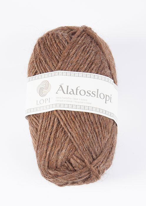 Icelandic sweaters and products - Alafoss Lopi 0053 - acorn heather Alafoss Wool Yarn - NordicStore
