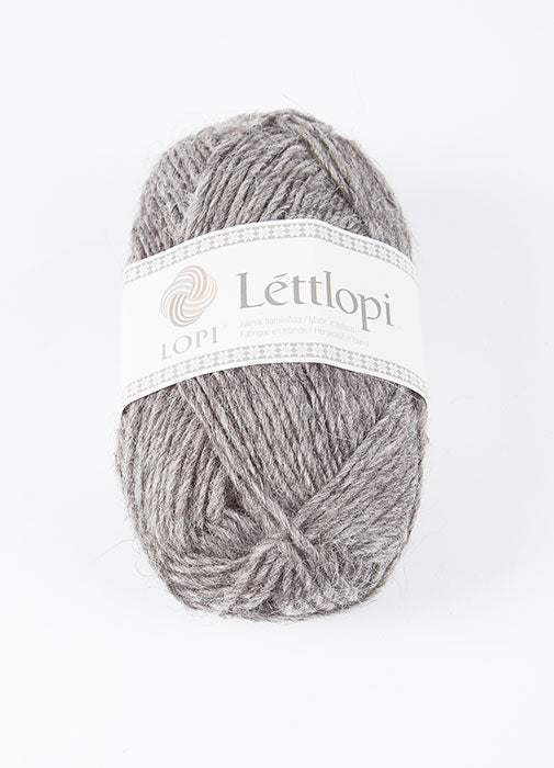 Icelandic sweaters and products - Lett Lopi 0057 - grey heather Lett Lopi Wool Yarn - NordicStore