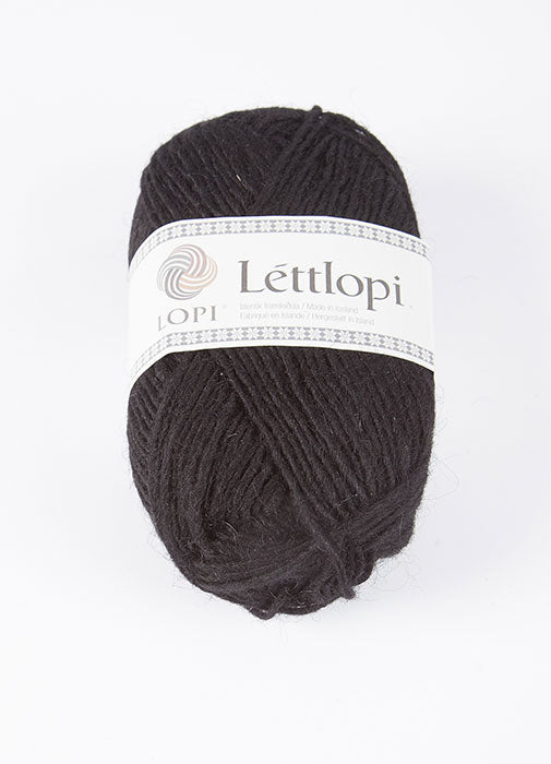 Icelandic sweaters and products - Lett Lopi 0059 - black Lett Lopi Wool Yarn - NordicStore
