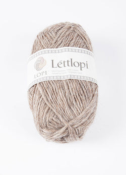 Icelandic sweaters and products - Lett Lopi 0085 - oatmeal heather Lett Lopi Wool Yarn - NordicStore