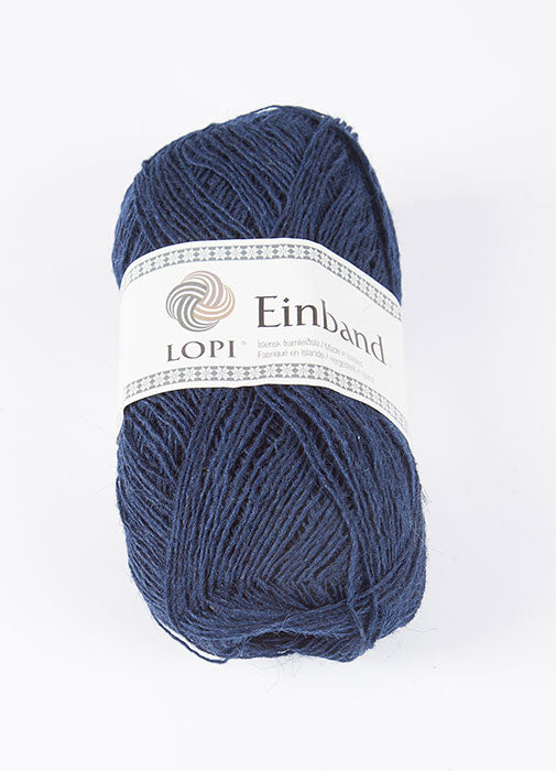 Icelandic sweaters and products - Einband 0118 Wool Yarn - Navy Einband Wool Yarn - NordicStore