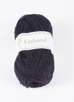 Icelandic sweaters and products - Einband 0709 Wool Yarn - Midnight Blue Einband Wool Yarn - NordicStore