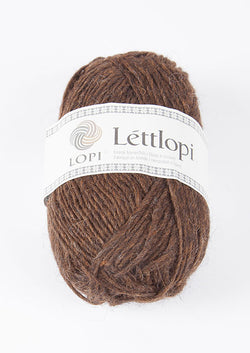 Icelandic sweaters and products - Lett Lopi 0867 - chocolate heather Lett Lopi Wool Yarn - NordicStore