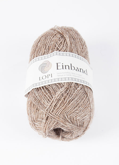 Icelandic sweaters and products - Einband 0885 Wool Yarn - Oatmeal Einband Wool Yarn - NordicStore