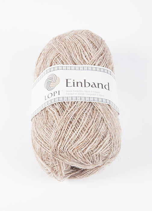 Icelandic sweaters and products - Einband 0886 - Beige Heather Einband Wool Yarn - NordicStore