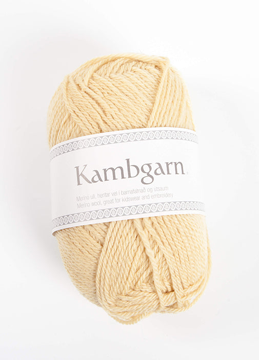 Icelandic sweaters and products - Kambgarn - 0939 Tender Yellow Kambgarn Wool Yarn - NordicStore