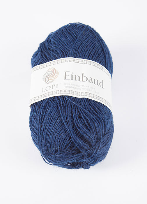 Icelandic sweaters and products - Einband 0942 Wool Yarn - Blue Einband Wool Yarn - NordicStore