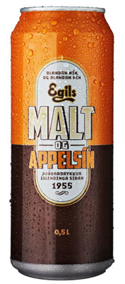 Icelandic sweaters and products - Malt og Appelsín (500ml) Food - NordicStore