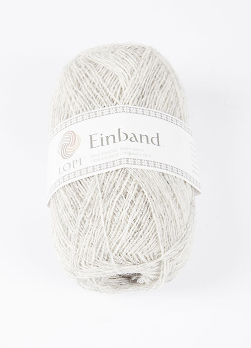 Icelandic sweaters and products - Einband 1026 Wool Yarn - Ash Heather Einband Wool Yarn - NordicStore