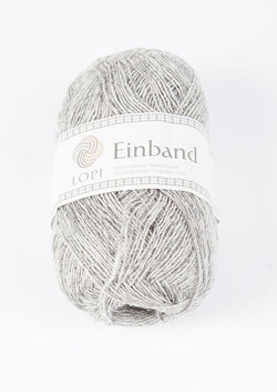 Icelandic sweaters and products - Einband 1027 Wool Yarn - Light Grey Heather Einband Wool Yarn - NordicStore