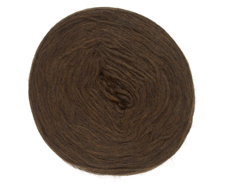 Icelandic sweaters and products - Plotulopi 1032 - dark brown heather Plotulopi Wool Yarn - NordicStore