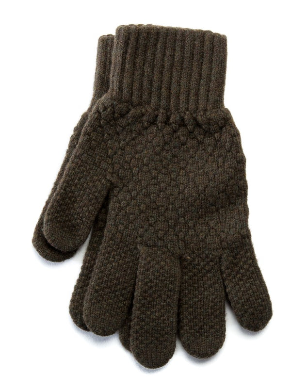 Men's Wool Gloves Moss Green