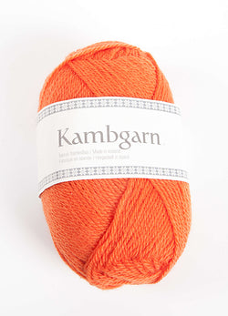 Icelandic sweaters and products - Kambgarn - 1207 Carrot Kambgarn Wool Yarn - NordicStore