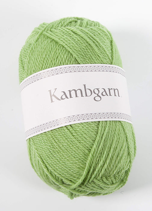 Icelandic sweaters and products - Kambgarn - 1209 Green Flash Kambgarn Wool Yarn - NordicStore